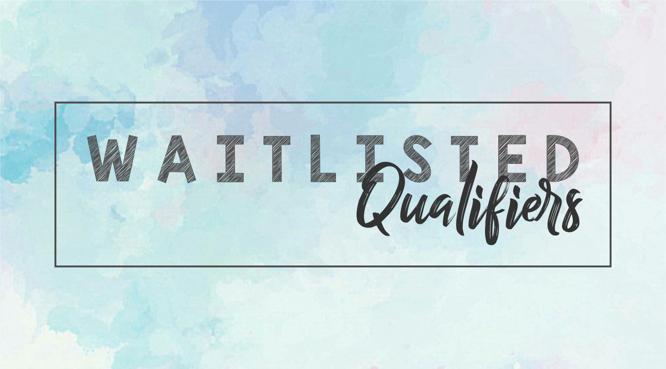 LIST: Waitlisted Qualifiers